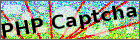 "Captcha mit Text ""PHP Captcha"""